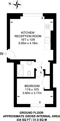 Large floorplan for Devonport Road, Shepherd's Bush, W12