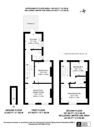 Large floorplan for Senrab Street, Stepney, E1