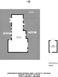Large floorplan for Woodlands Road, Surbiton, KT6