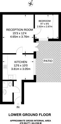 Large floorplan for Craven Hill Gardens, Lancaster Gate, W2