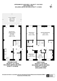 Large floorplan for Arcadian Place, Southfields, SW18