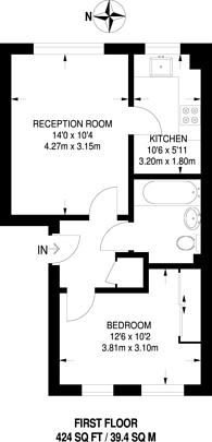 Large floorplan for Macmillan Way, Tooting Bec, SW17