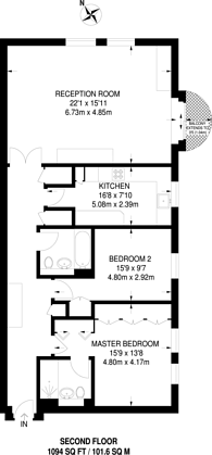 Large floorplan for Huntsmore House, Pembroke Road, Kensington, W8