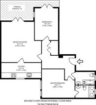 Large floorplan for Woodseer Street, Spitalfields, E1