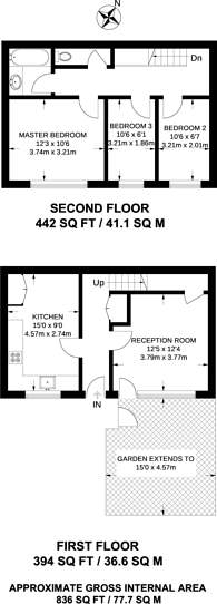 Large floorplan for Burr Close, St Katharine Docks, E1W