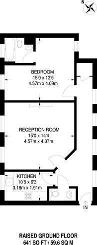 Large floorplan for Westminster Bridge Road, Waterloo, SE1