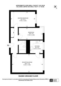 Large floorplan for Devonport, Hyde Park Estate, W2