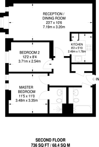 Large floorplan for Great Suffolk Street, Southwark, SE1