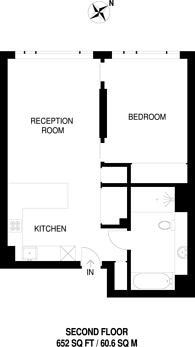 Large floorplan for Buckingham Palace Road, Victoria, SW1E