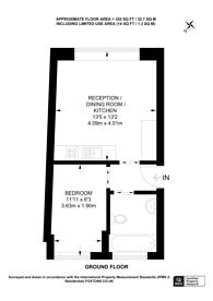 Large floorplan for Petty France, St James's Park, SW1H