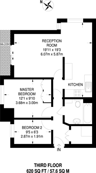 Large floorplan for Kingswood Drive, Crystal Palace, SE19