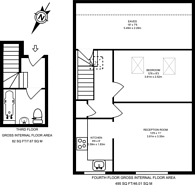 Large floorplan for Sutherland Avenue, Maida Vale, W9