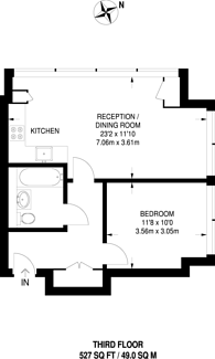 Large floorplan for Northolt Road, South Harrow, HA2