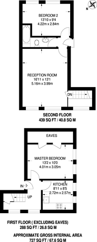 Large floorplan for Blyth Road, Bromley, BR1
