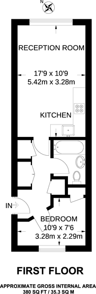 Large floorplan for Dorchester House, Great Western Road, Westbourne Park, W11