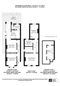 Large floorplan for Agraria Road, Guildford, GU2