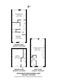 Large floorplan for Hillview Court, Woking, GU22