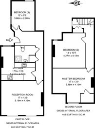 Large floorplan for Chertsey Road, Woking, GU21