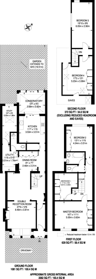 Large floorplan for Harrow View, Harrow, HA1