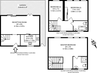 Large floorplan for Allingham Street, Angel, N1