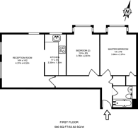 Large floorplan for Glyn Avenue, East Barnet, EN4