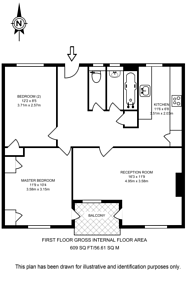 Large floorplan for Patmore Estate, Battersea, SW8