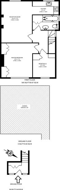 Large floorplan for Graham Road, Wimbledon, SW19