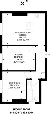 Large floorplan for Anerley Road, Anerley, SE20