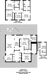 Large floorplan for Wyatt Drive, Barnes, SW13