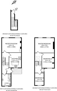 Large floorplan for Crossley Street, Barnsbury, N7