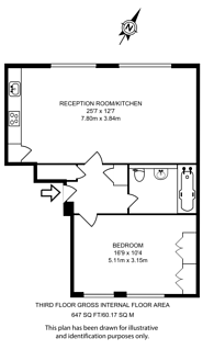 Large floorplan for Latitude House, Camden, NW1