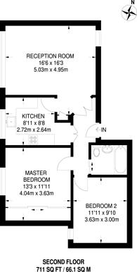 Large floorplan for Ivy Court, Lee Road, Blackheath, SE3