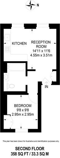 Large floorplan for Ranelagh Road, Pimlico, SW1V
