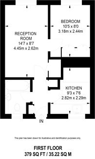 Large floorplan for St Johns Wood Road, St John's Wood, NW8