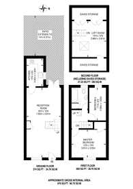 Large floorplan for Grove Road, Ealing, W5