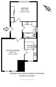 Large floorplan for Albert Close, Victoria Park, E9