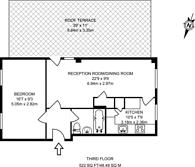 Large floorplan for Bourbon Lane, Shepherd's Bush, W12