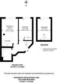 Large floorplan for Friar Street, City, EC4V