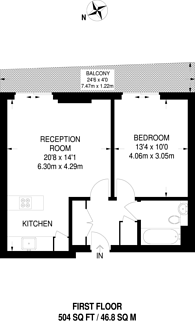 Large floorplan for Oval Road, Camden Town, NW1