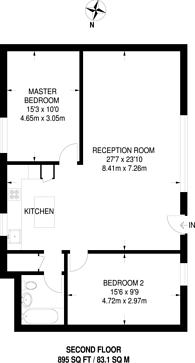 Large floorplan for New Crescent Yard, Harlesden, NW10
