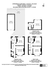 Large floorplan for Byrefield Road, Stoughton, GU2