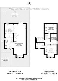Large floorplan for Sunnydene Street, Sydenham, SE26