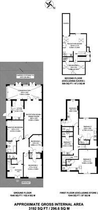Large floorplan for Staverton Road, Brondesbury, NW2