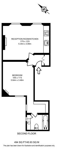 Large floorplan for Marylebone Lane, Marylebone, W1U