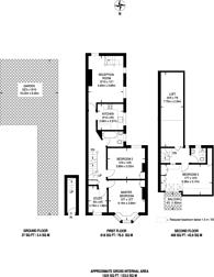 Large floorplan for Putney Bridge Road, Putney, SW18