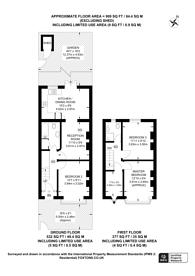 Large floorplan for Kohat Road, Wimbledon, SW19