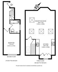 Large floorplan for Craster Road, Brixton, SW2