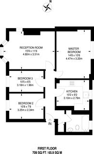 Large floorplan for Rigby Close, Croydon, CR0