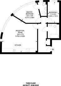 Large floorplan for London Road, Kingston, KT2
