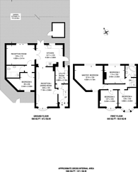 Large floorplan for Thurleston Avenue, Merton, SM4
